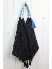 Crochet Lace Beach Bag