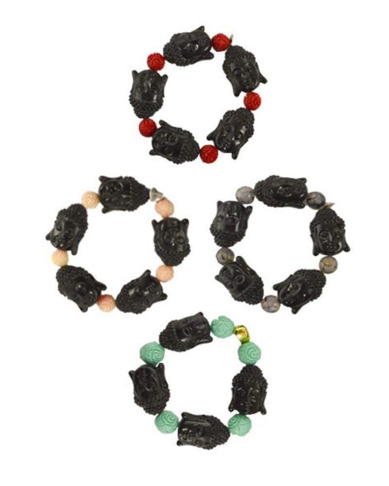 Siddhartha Bracelets In Black