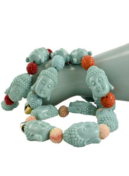 Siddhartha Bracelets In Turquoise