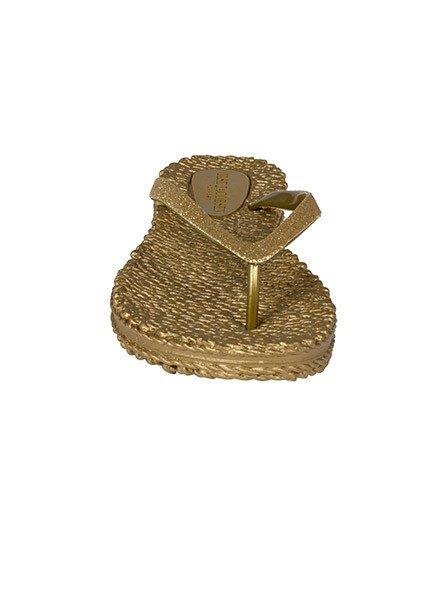 Ilse Jacobsen Ilse Jacobsen Cheerful Flip Flops In Gold