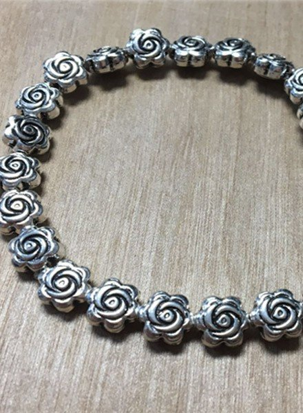 Bali Tiny Rose Stretch Bracelet