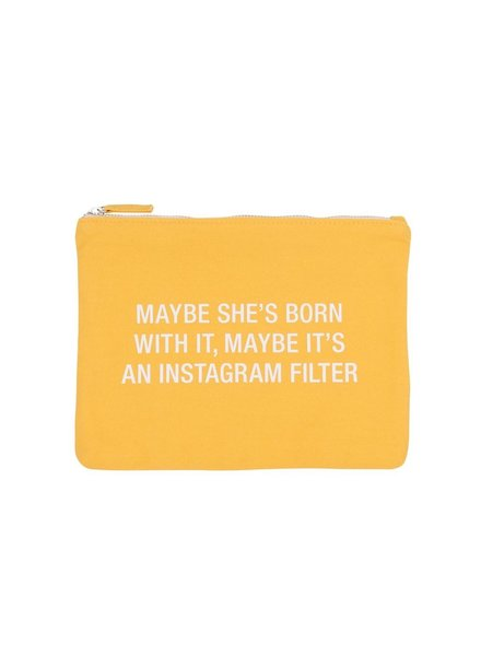 Instagram Filter Cosmetic Bag
