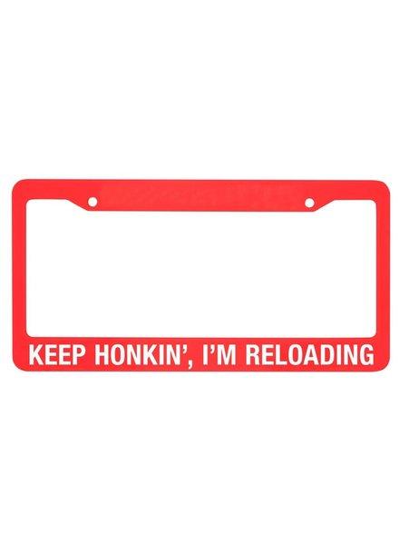I'm Reloading License Plate Frame