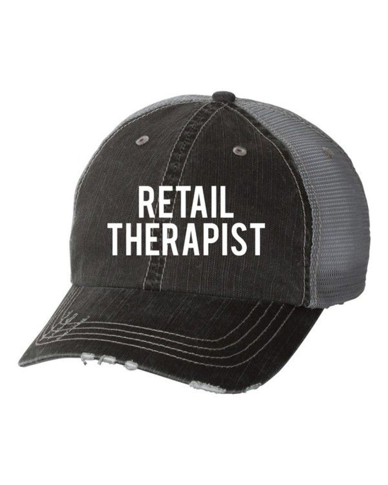 """Retail Therapist"" Trucker Hat"