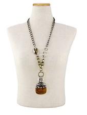 Giant Acorn Handmade Necklace