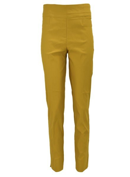 Renuar The Ankle Cigarette Magic Pant In Saffron