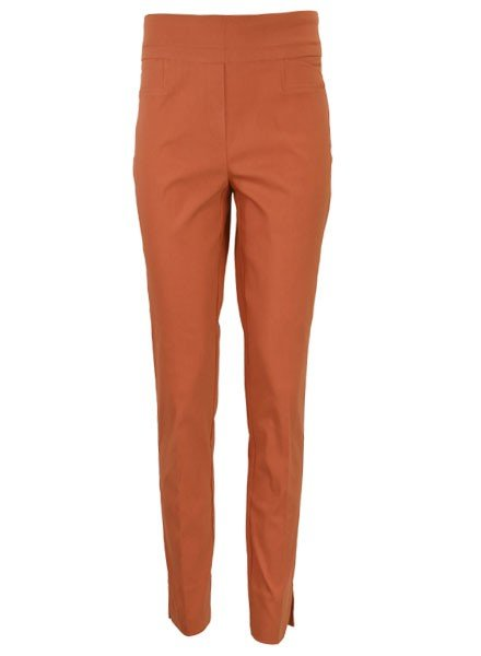 Renuar The Ankle Cigarette Magic Pant In Spice
