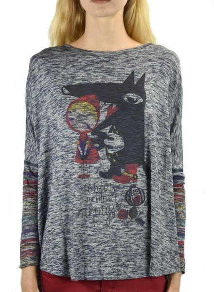 Inoah Inoah Little Red Riding Hood Top