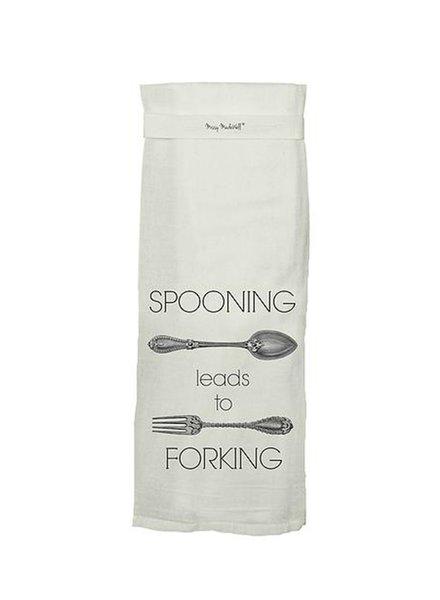 Spooning Hang Tight Towel