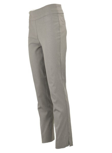Renuar The Ankle Cigarette Magic Pant In Heather Silver
