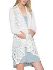 Crochet Jacket In White