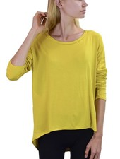 Heliotrope Top In Mustard