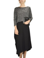 Comfy's Sun Kim Vivien Skirt In Black