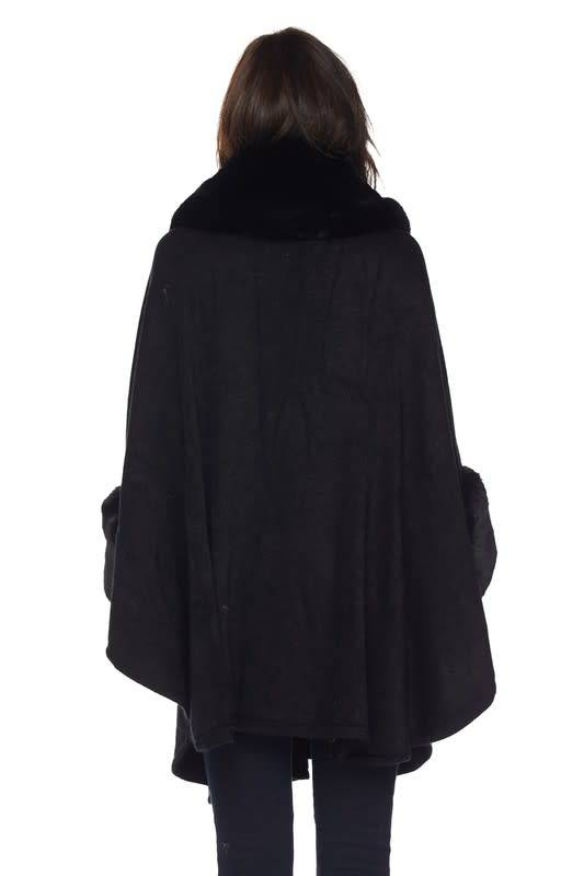 Fur Detail Cape