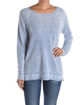 Raw Edge Burnout Sweater