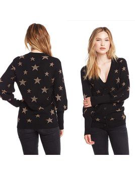 Gold Star Bishop Sleeve Cardigan