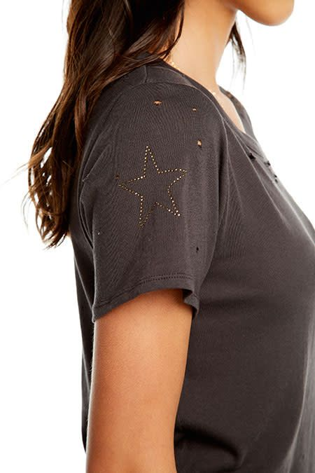 Distressed Military T-Shirt