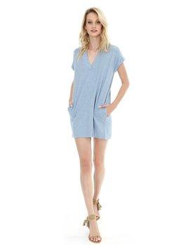 Short Sleeve Dolman Dress