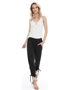 Side Shirred Pants