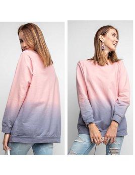Ombre Dyed Sweatshirt