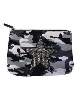 Camouflage Star Pouch