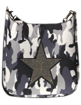 Camouflage Messenger Star Handbag