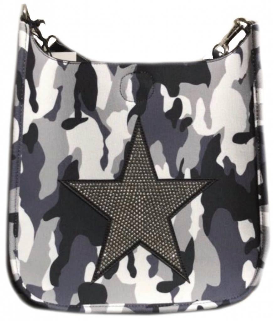 Camouflage Messenger Star Handbag