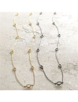 Long Pave Necklace