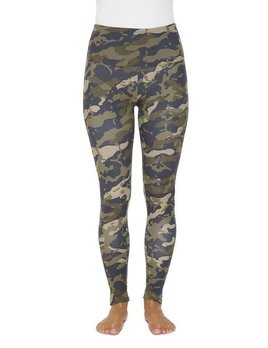 Camouflage Cotton Skinny Leggings