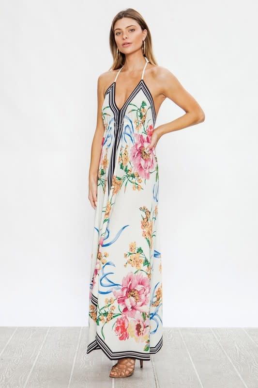 Floral Handkerchief Dress