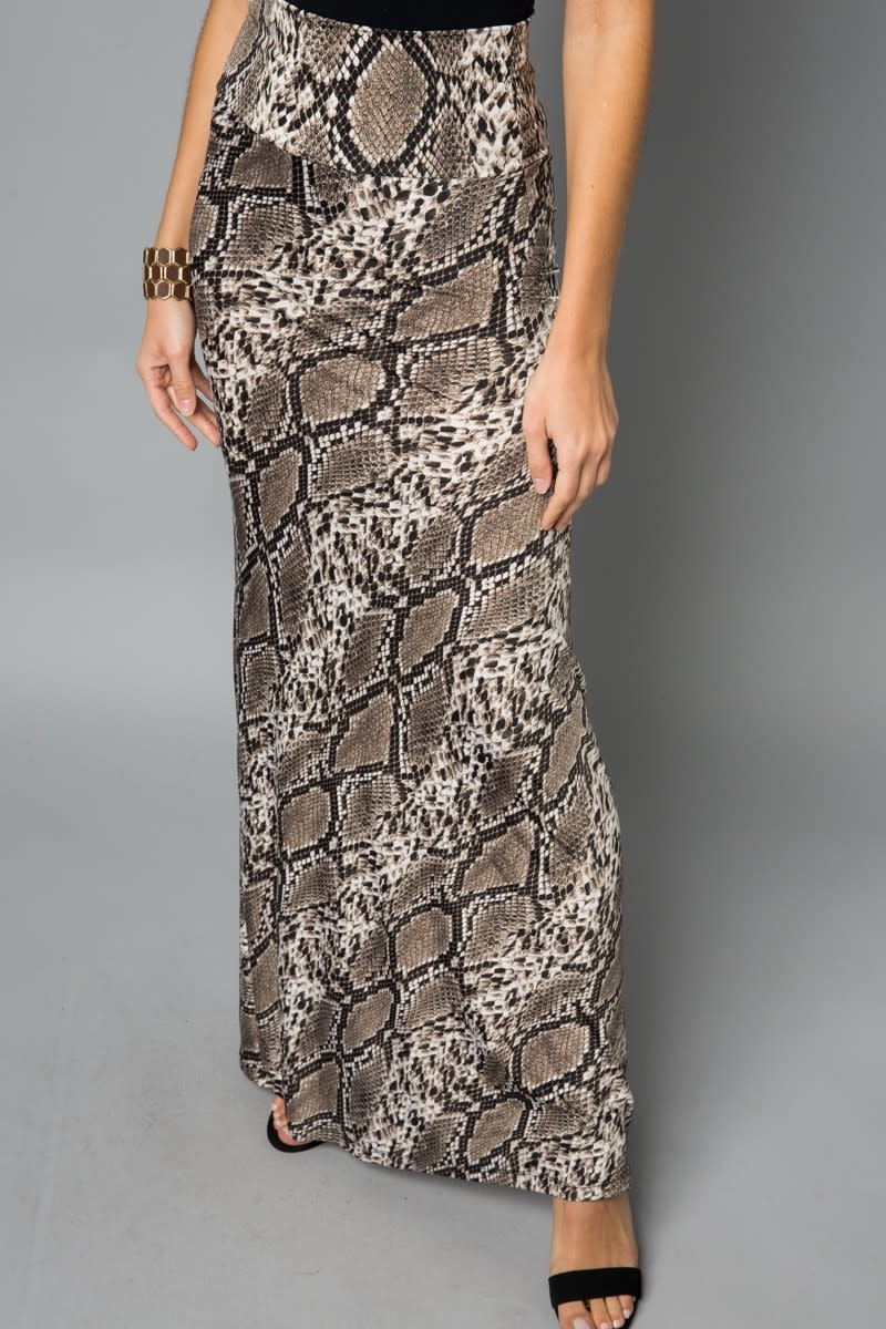f7c74dac1850f Snake Print Maxi Skirt Snake Print Maxi Skirt ...