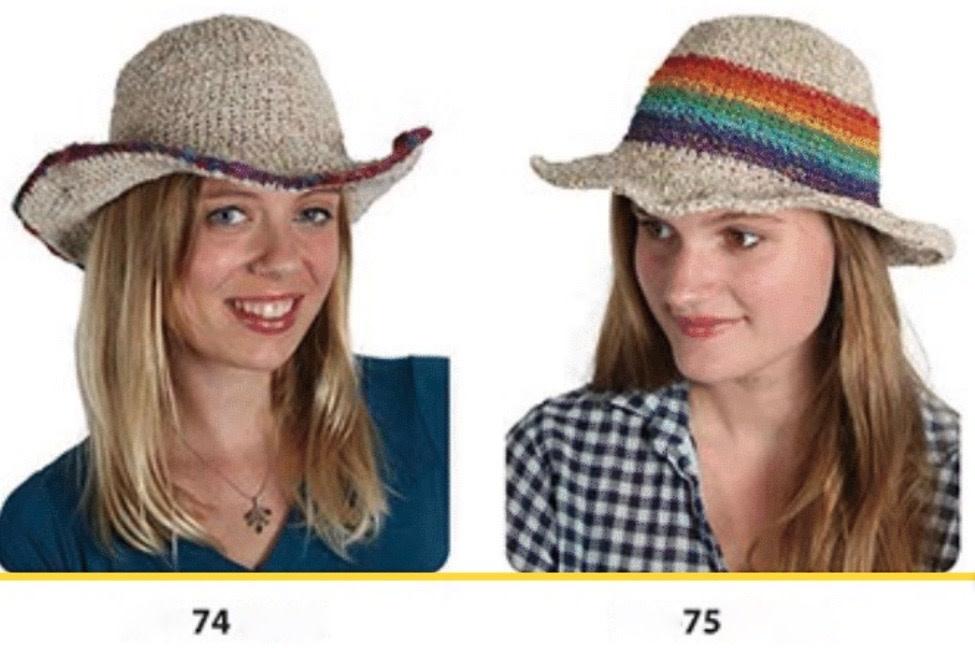 edca38736 Rainbow Straw Hat