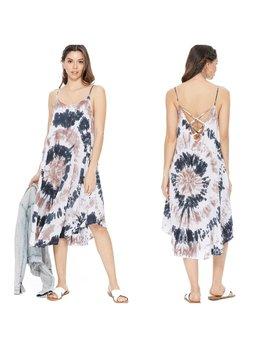 A-Line Tie Dye Dress