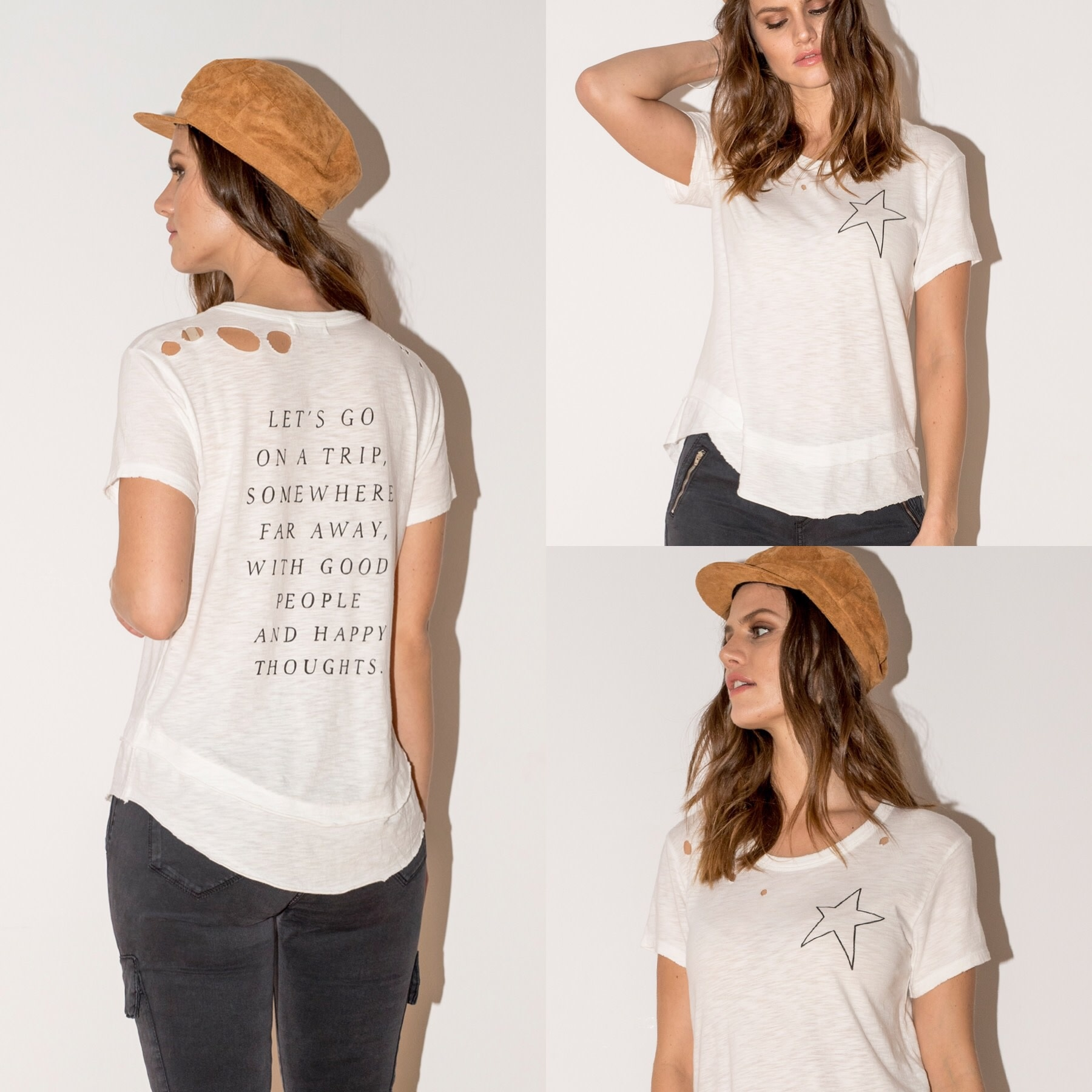 Let's go on a trip Somewhere Tee