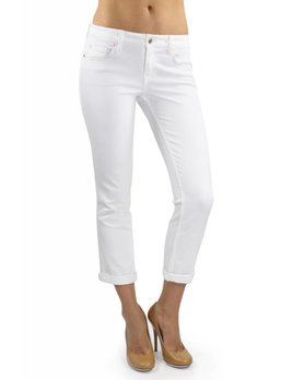 Lily Mid Rise Crop Rollup Skinny