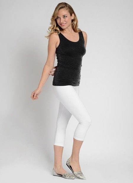 Basic Cotton Capri