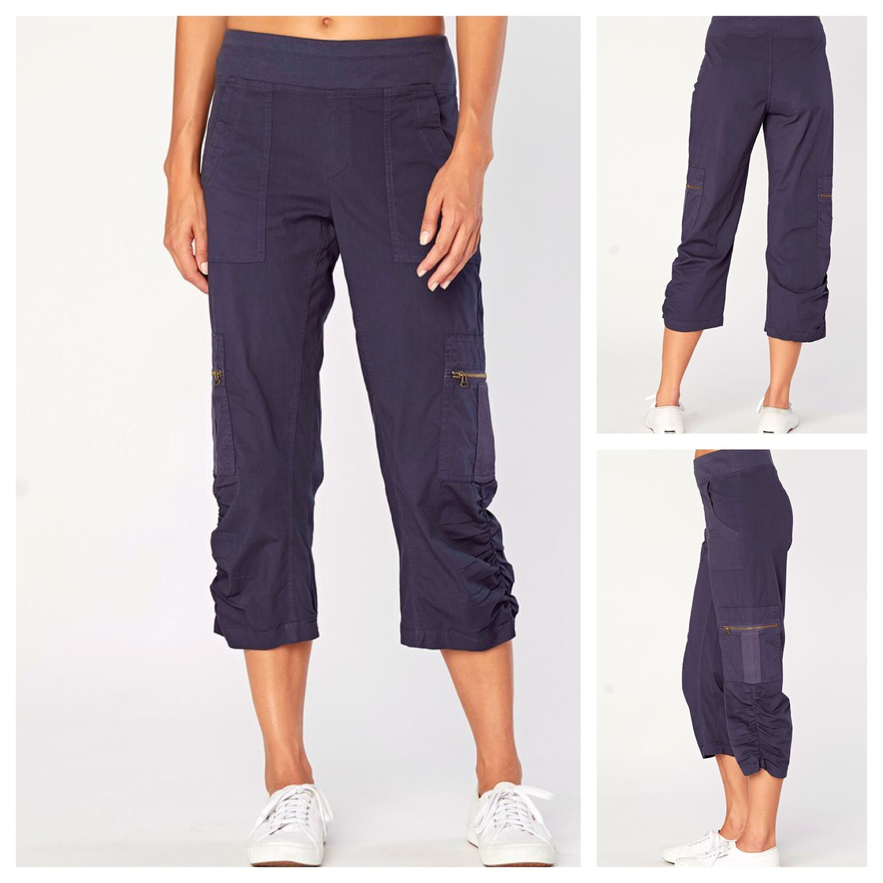 Cargo Pants with Zip Pockets
