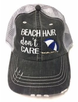 Beach Hair Don't Care Hat