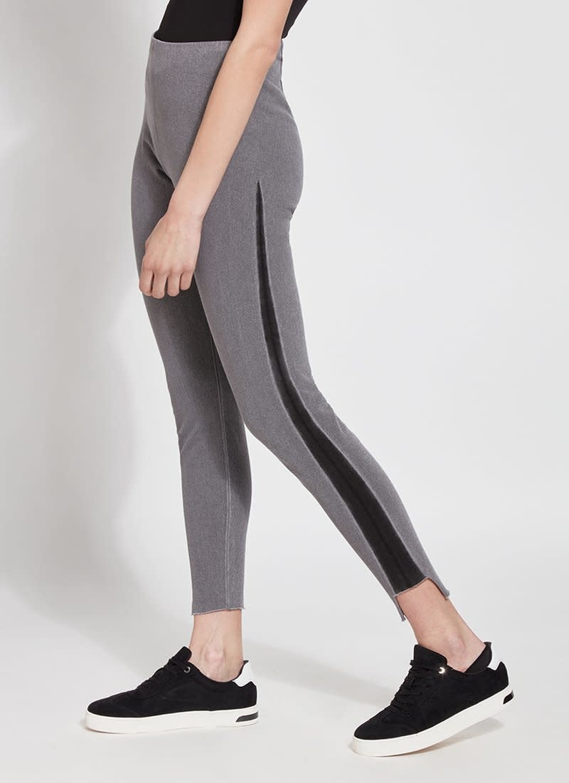 Denim Legging with Stripe