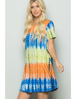 Tie Dye Sumndress with Pockets