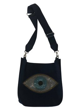 Evil Eye Messenger Bag