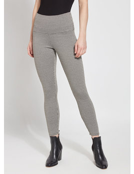 Houndstooth Denim Leggings