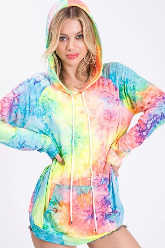 Tie Dye French Terry Hoodie