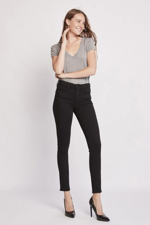 Mid Rise Ankle Skinny Jean
