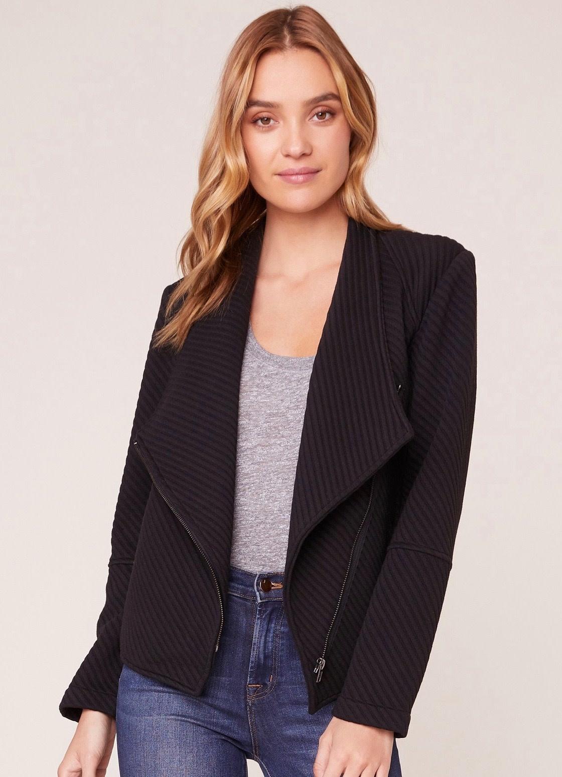 Knit Ottoman Jacket