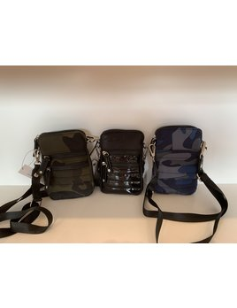 Nylon Cellphone Crossbody Bag