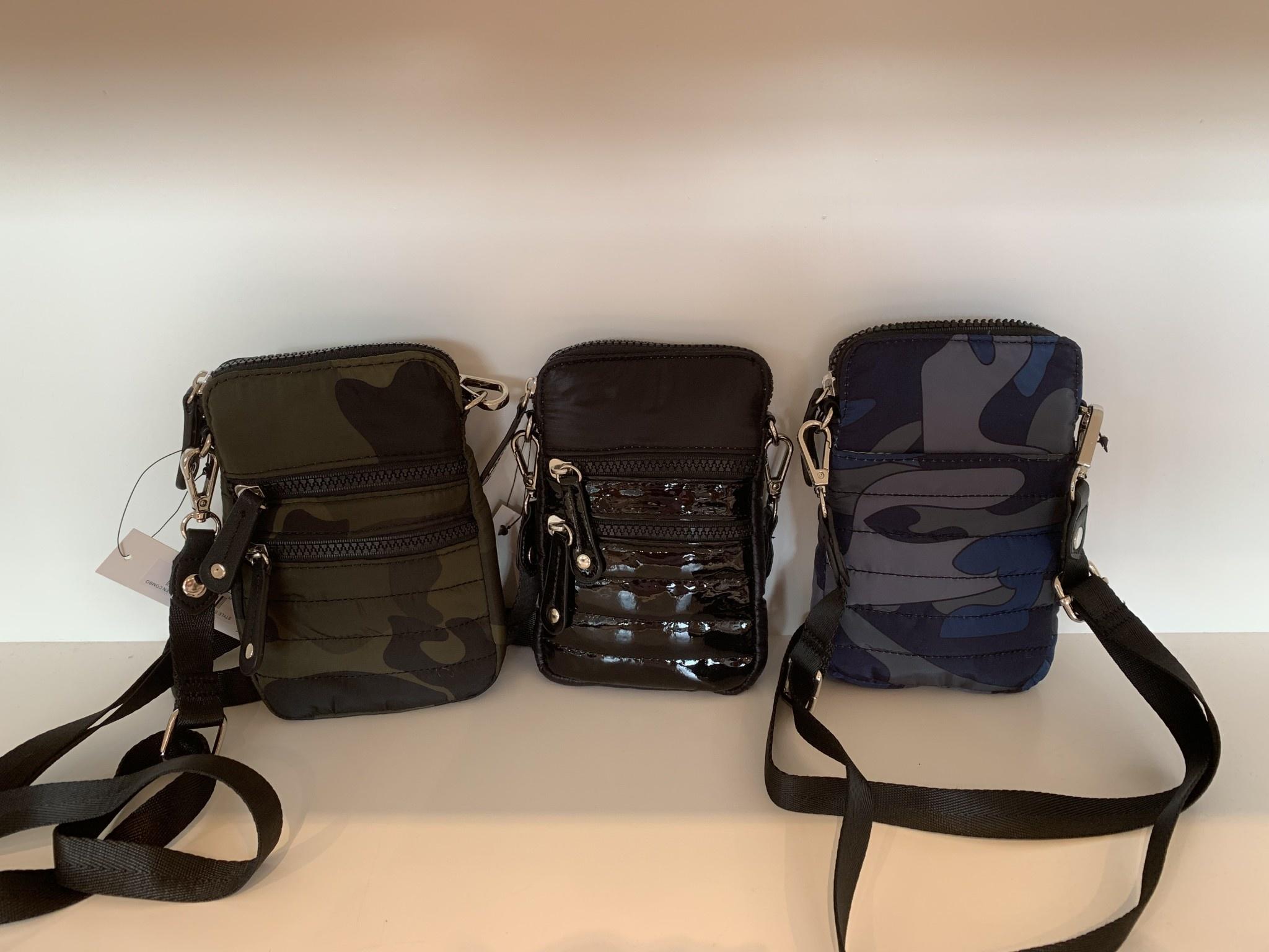 Nylon Cellphone Crossbody Bag