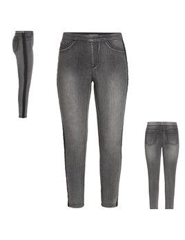 Tuxedo Stripe Pull On Jeans