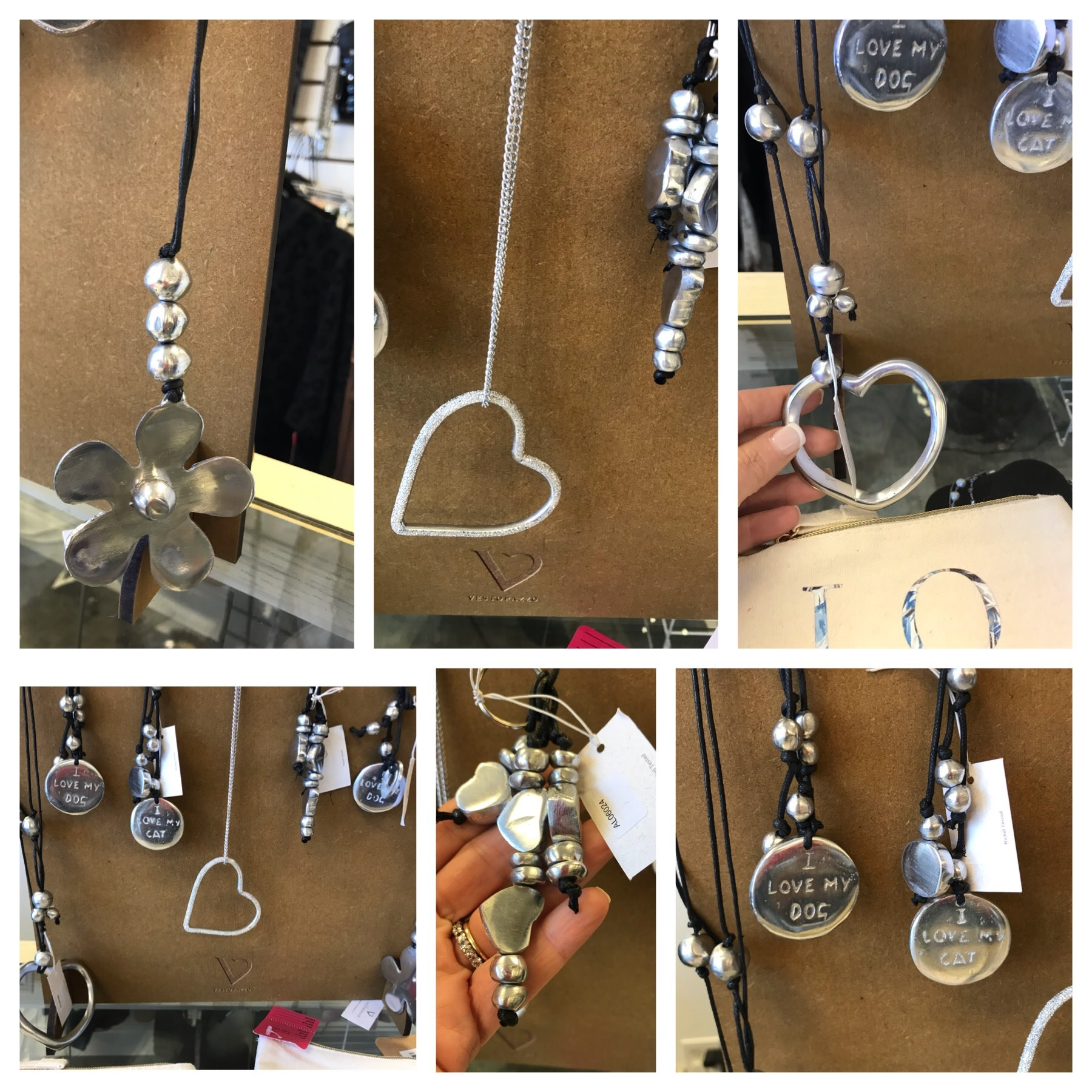 Recycled Aluminum Necklaces
