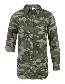 Camouflage Shirt Combo Back